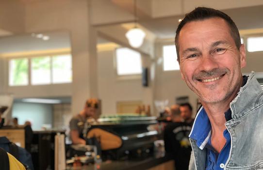 Auf einen Kaffee mit Christian Etzinger