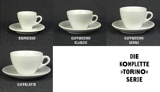 cappuccino tasse torino gross made in italy ancap. Black Bedroom Furniture Sets. Home Design Ideas