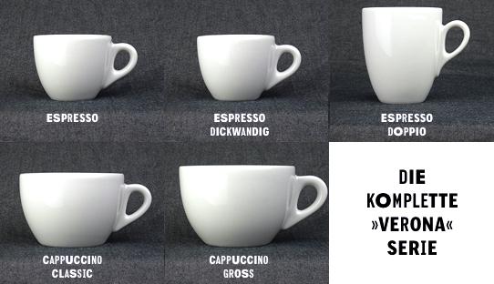 espresso tasse verona doppio made in italy ancap 130 ml moka consorten onlineshop. Black Bedroom Furniture Sets. Home Design Ideas