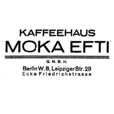 Der sagenhafte Herr Eftimiades und sein »Moka Efti«